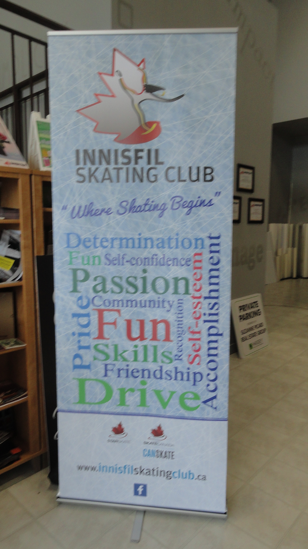 Fantastic Banner Stands by Speedpro Signs Barrie!