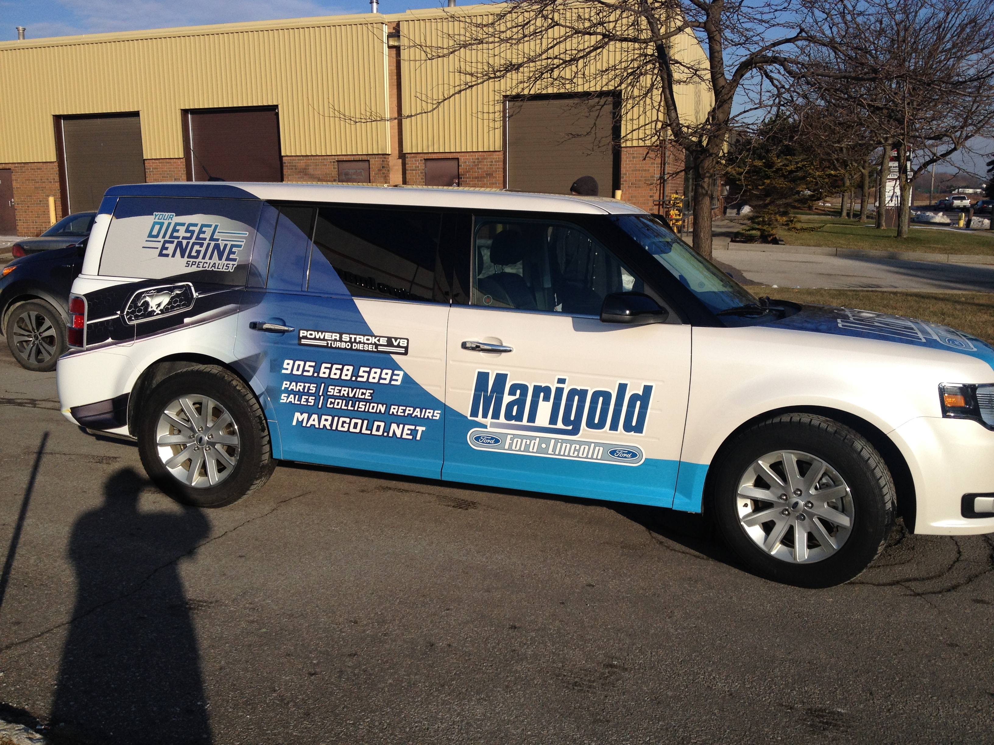 Ford Service Decals : Vehicle wraps will get people turning their heads