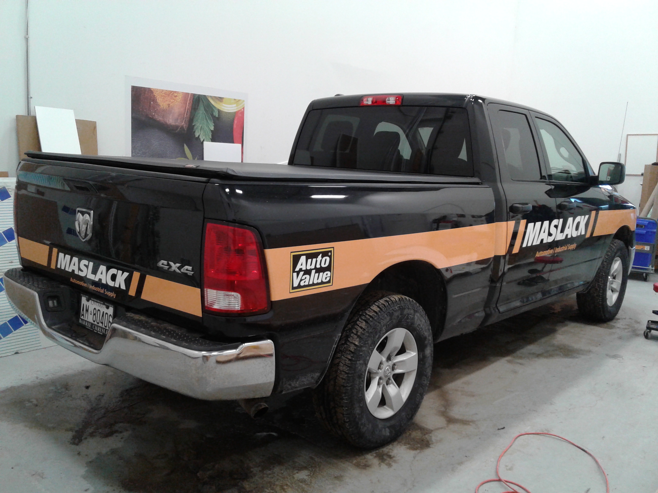 Vinyl Car And Vehicle Wraps Barrie Speedpro Signs