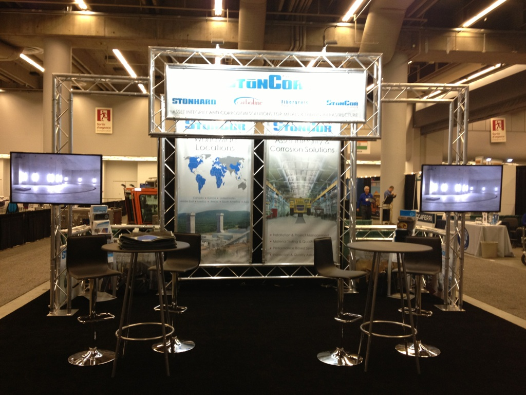 Exhibition Booth Printing : Add some wow factor to your trade show event booth