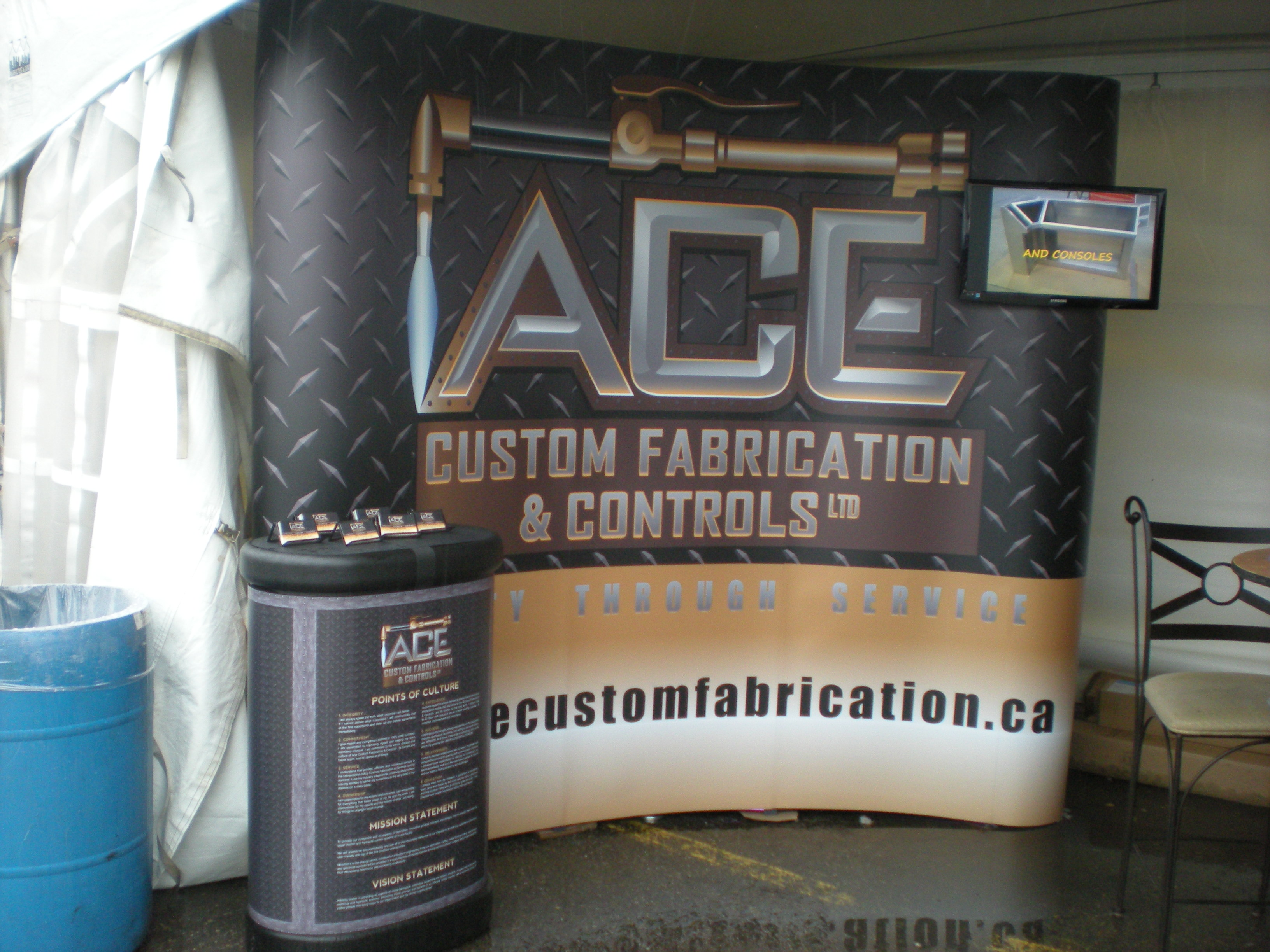 Trade Show Booth Edmonton : Trade show displays and booths speedpro signs edmonton south