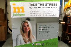 Intrigue Media fabric booth