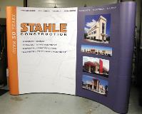 Stahle Construction Curved Display Speedpro TGT