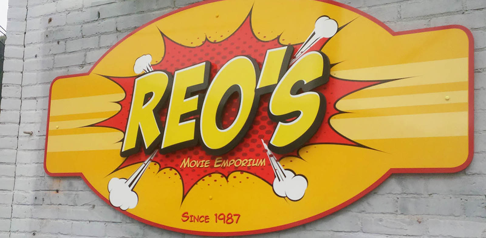Reo's sign- header