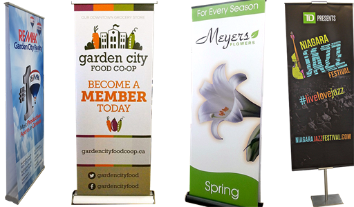 Banner Stand Examples