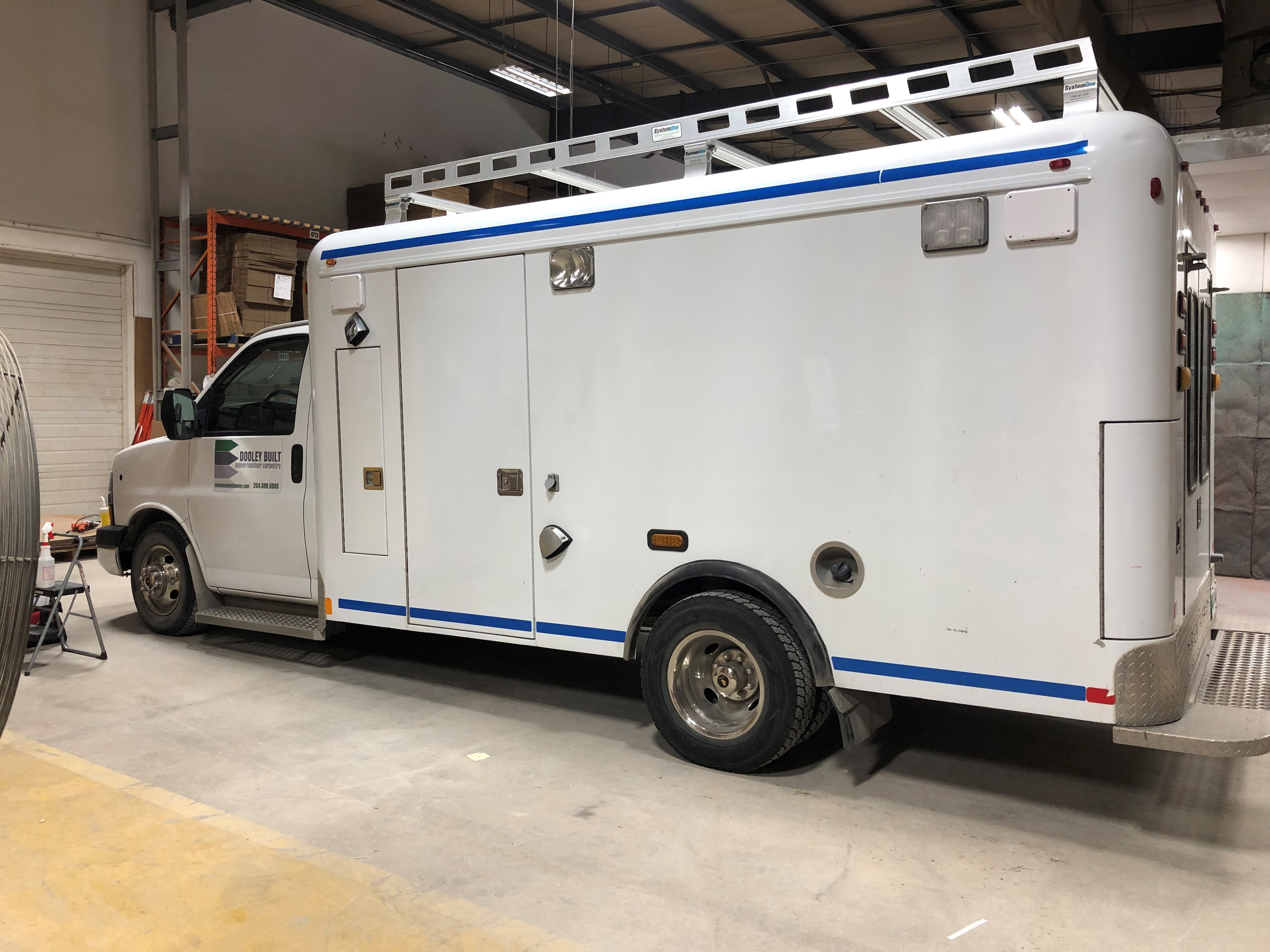 Ambulance Wrap Before Picture